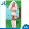 CSP-169 Cosplay Rabbit Animal Costume Sexy Pink Rabbit Costume