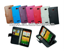 Wallet Leather Case for HTC X920e Droid DNA
