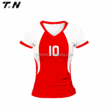 hot sale fashionable women's volleyball uniform/jersey