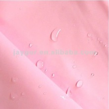 100% Polyester PU coated water repellent fabric