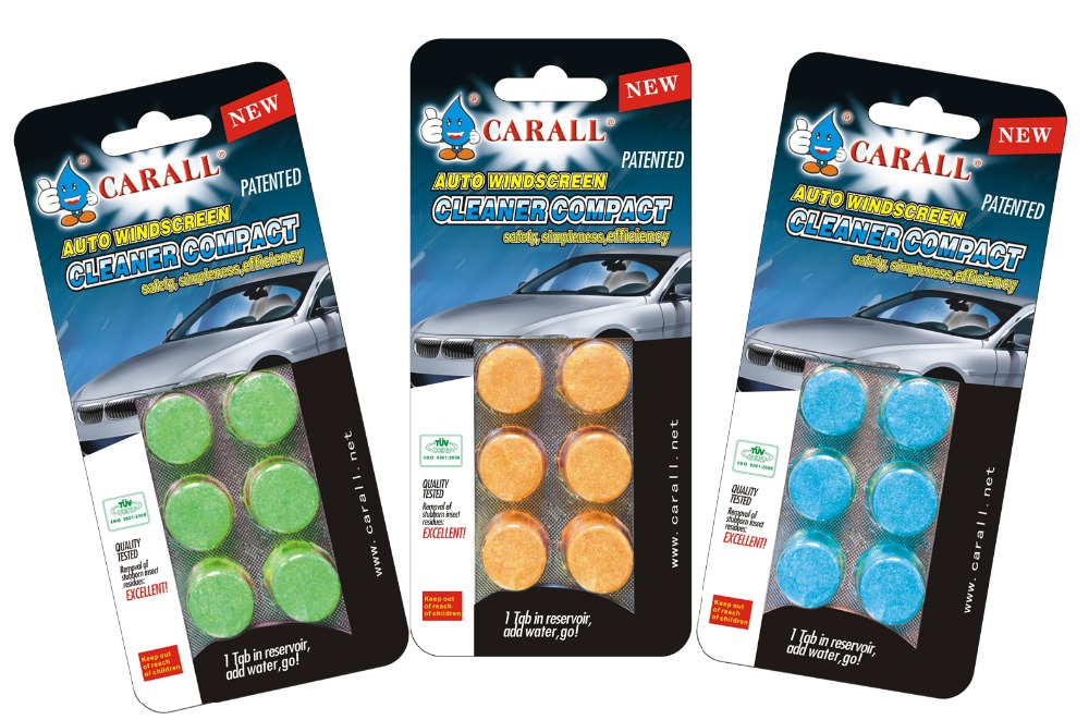 Car Care Products Highly Dissolution Rate Windshield Washer Tablet
