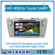 2016 best For toyota Camry 2006 2007 2008 2009 2010 2011 car dvd gps player support bluetooth car radio multimedia video player
