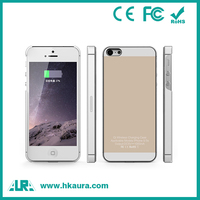 Fashionable Wireless Charging Receiver Back Charging Case For iphone 5