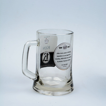 German style wholesale glass sublimation beer steins