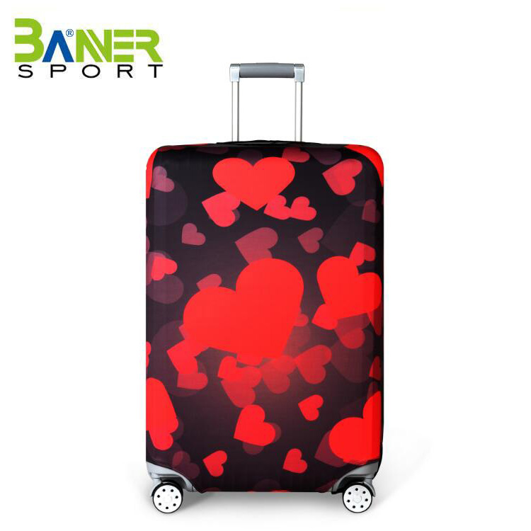 Foldable custom design protective cover luggage