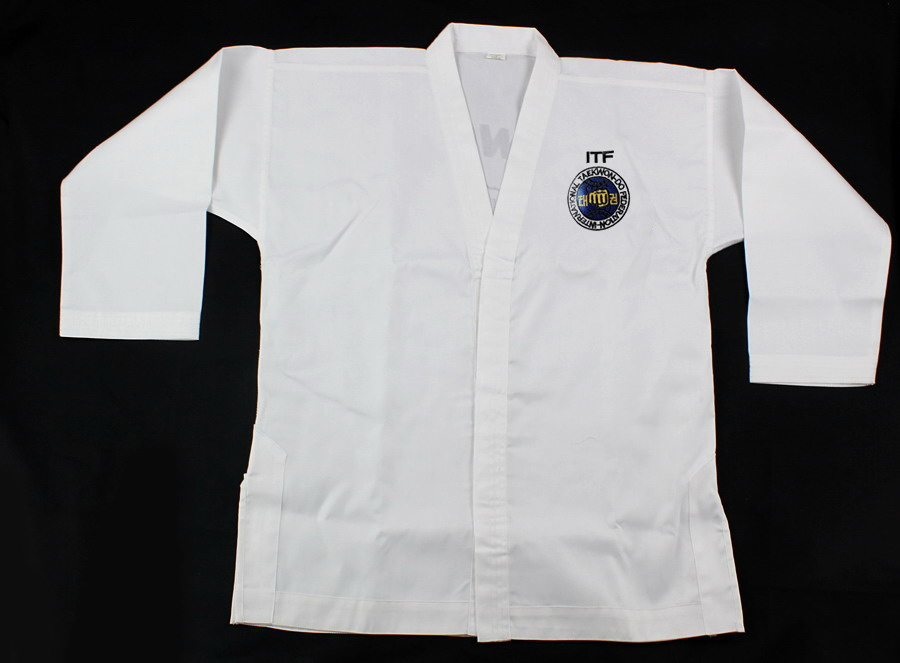 alibaba express Factory Direct ITF Taekwondo dobok uniform from china