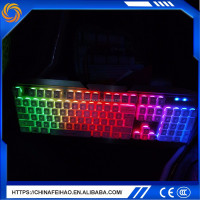 Factory price light dust proof long wire bluetooth keyboard for computers