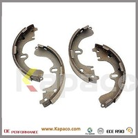 Kapaco Top Quality Auto Spare Parts Rockwell Brake Shoes OEM NO. 04495 12210 / 0449512210