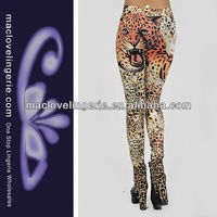 ML7530 Multi-Colored Hardy Animal Print patterned women wholesale leggings