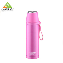 Durable custom wholesale funny shaped printed camping thermos coffee mug
