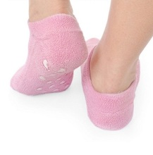 Foot care spa beauty socks moisture spa silicone gel socks for skin care