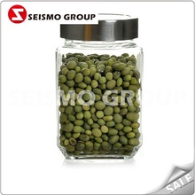 50g glass jar for aluminum cap 70ml spice glass jar used for jam