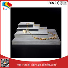 Transparent with low price acrylic anklet display