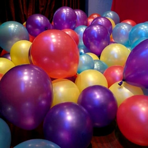 100% nature Latex 10 inches metallic color latex balloons