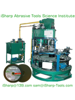 Grinding wheel & cutting wheel making machine