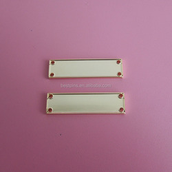 rectangle shaped plates blank plate gold plate