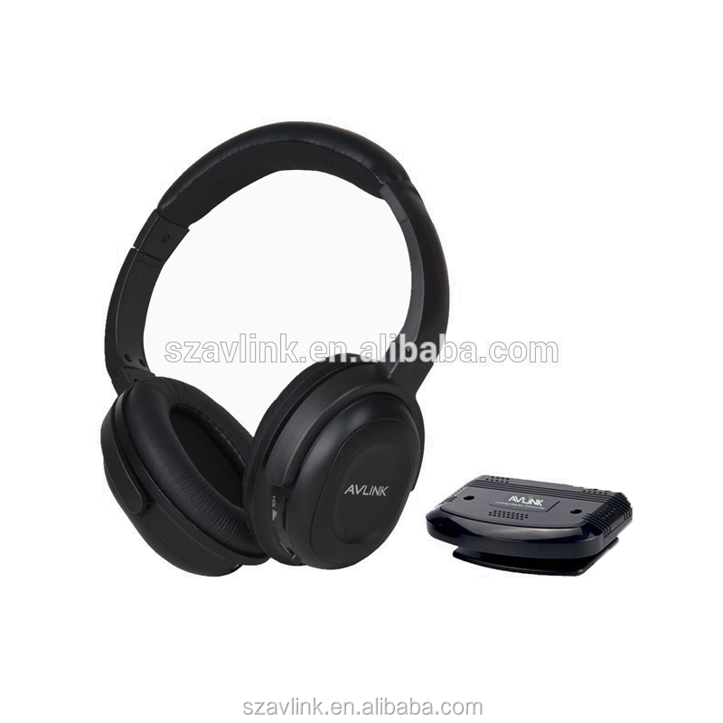 Long distance RF 863 MHz wireless stereo headphone for UK, European country
