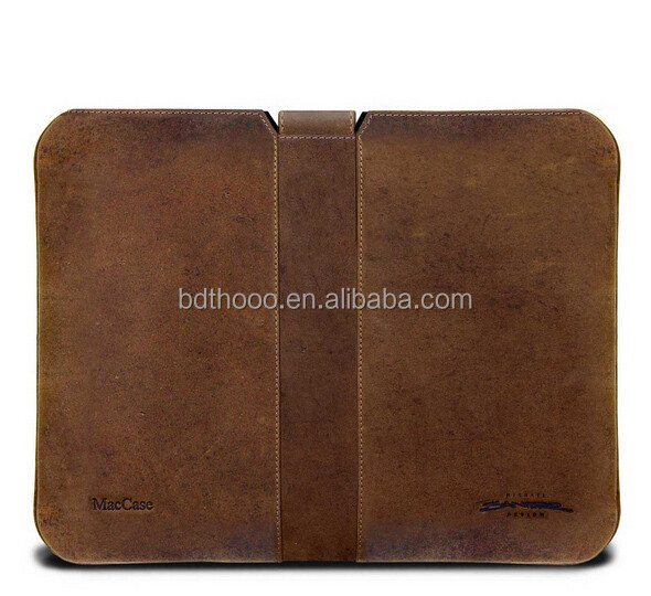 retro type custom leather laptop sleeves, universal tablet case leather for ipad sleeve, for ipad air tablet case