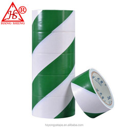 best sales strong adhesive good quality stable golden china supplier underground Warning Use and PVC Material Green tie tape