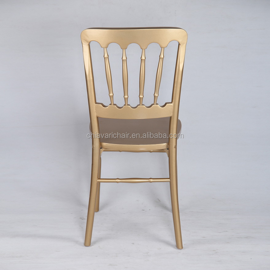 TOREGAL Outdoor Garden Wood Chateau Camelot Wedding Chairs