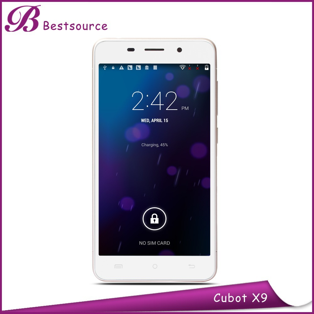 Octa core MTK6592 1.4Ghz Cubot X9 phone 1280*720 IPS 2G+16G F8.0MP/R13.0MP mobile phone price in thailand