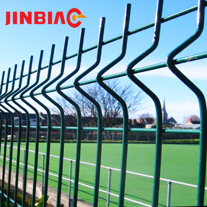Powder coated 4x4 welded chain link green plastic coating wire mesh