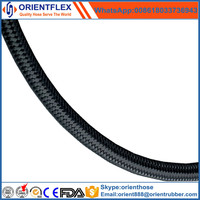 Wire Braided and Textile Covered Rubber Hydraulic Hose SAE 100 R5