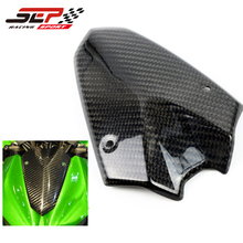 Front Carbon Fiber Windscreen Windshield Motorcycle For Kawasaki Ninja Z1000 2010-2014