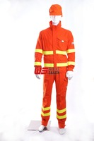 lower weight ,good ventilation and comfortable wildland fire fighting and technical rescue firefighting turnout suit