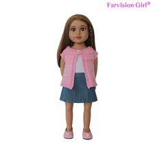 Cute Girl Mother Baby Doll Vinyl doll heads arms and legs