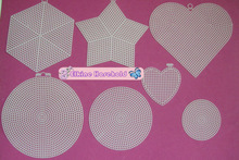 High quailty plastic canvas sheets /shapes 10 count,Star, Heart, Hexagonal, Round,Triangle,sheets for bags