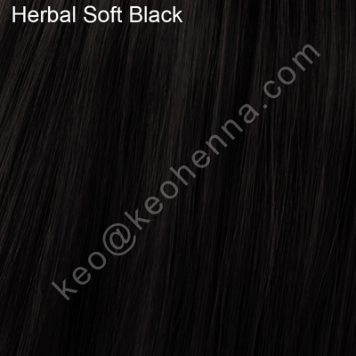 Herbal Soft Black Henna, 100% Natural Hair Color