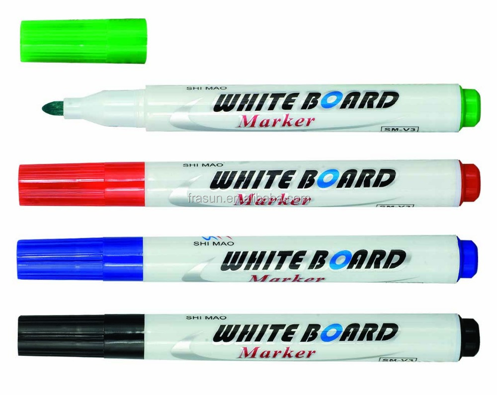 China factory multi color non permanent whiteboard marker pen, wet erasable liquid chalk marker
