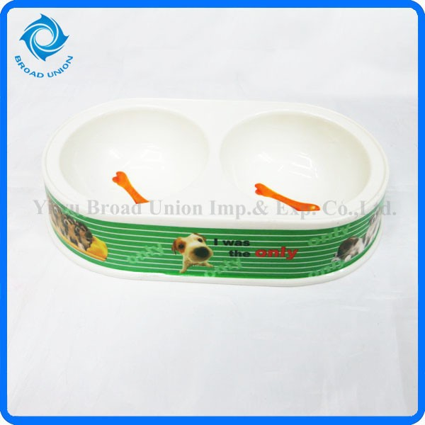 Hot Sale Pet Feeding Supplies Dog Cat Bowls and Water Dishes