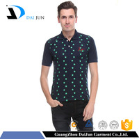 Daijun oem 100% cotton screen printing short sleeves custom 220g men wholesale famous brand of polo t shirt