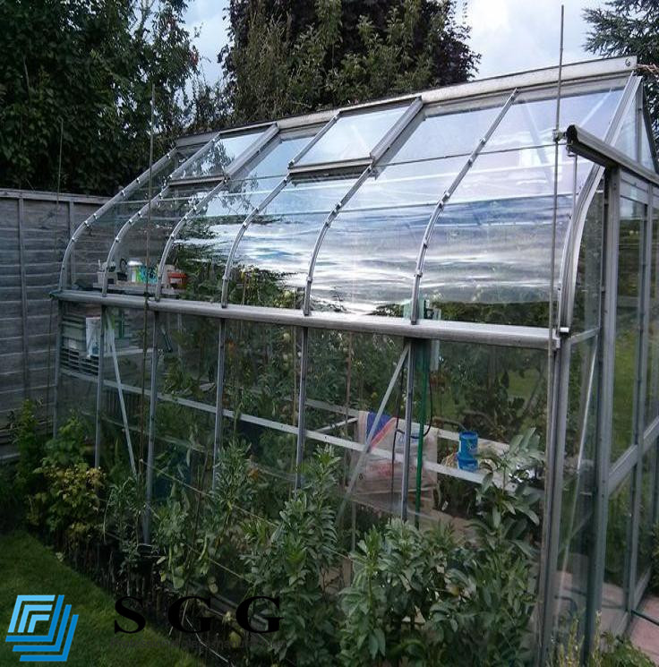 Factory Supply High Quality Greenhouse Low Iron Laminated Low E Glass