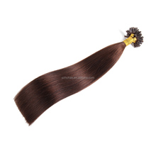 Grade 8A different color top quality remy u-tip human hair extensions