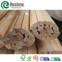 Raw Timber Quarter Round Finger Jointed Flooring
