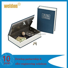 Fashion Secret Dictionary Book Travel Safe Security Key Lock Money Cash Jeweller box