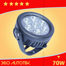HID Driving Light For Offroad Truck Tractor Replace LED Work Light 35W 55W 75W