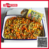 Wholesale canned mixed vegetable in brine
