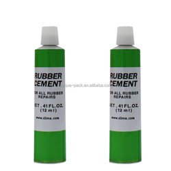 Empty ointment aluminum packaging tube