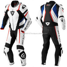 one piece Genuine cow hide leather motorbike motorcycle racing suit bikers suits