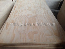 competitive price 3mm pine plywood / 3mm pine face plywood for high grade furniture