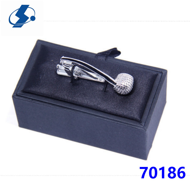 Novelty Tobacco Pipe Shape Gentle Design Tie Clip For Clip On Ties