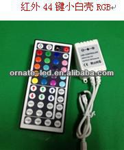 Hot Sale 44 Keys IR RF Remote mini dmx Controller Wireless For RGB SMD LED Light Strips New