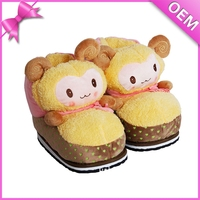 Cute little lamb feet warm meaning pleasant plush goat slippers