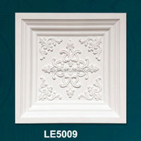 stretch ceilings Suspended ceiling tiles Fire-proof decorative PU ceiling tiles