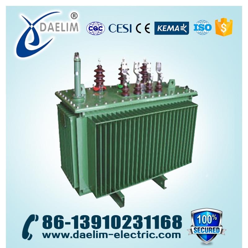 10kV/0.4kV 1600kVA Full-sealed Distribution Transformer With High Frequency