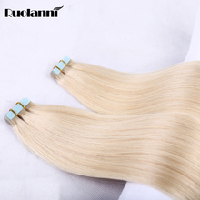 Wholesale price unprocessed Brazilian human hair tape hair extensions